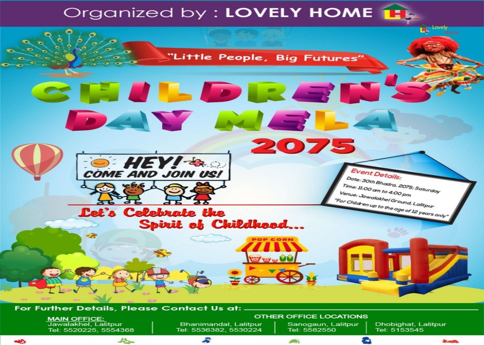 Children's Day Mela 2075